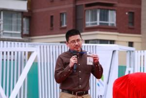 执行委员会代表武小川发言